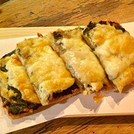ふき味噌和風ピザ
