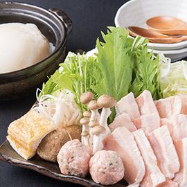 鶏白湯スープ つくね鍋